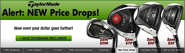 Golf Clubs: Golf Balls: Golf Shoes: Apparel: GPS & Rangefinders: Bags: Golf Carts.